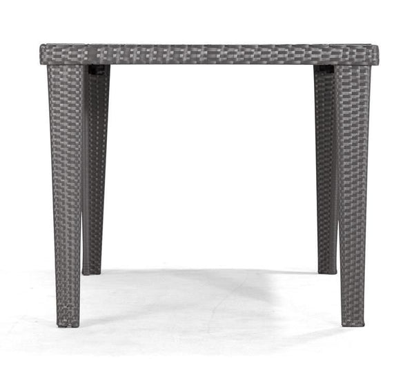 Cavendish Rectangular Table Aluminum Frame Outdoor Dining