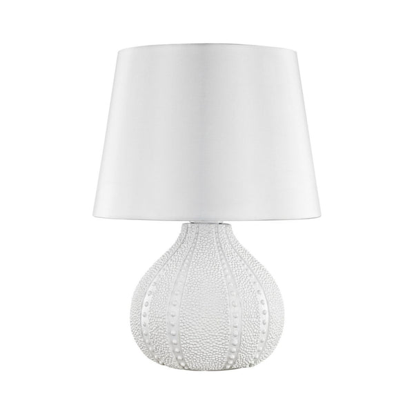 Aruba Outdoor Table Lamp With Pure White Shade
