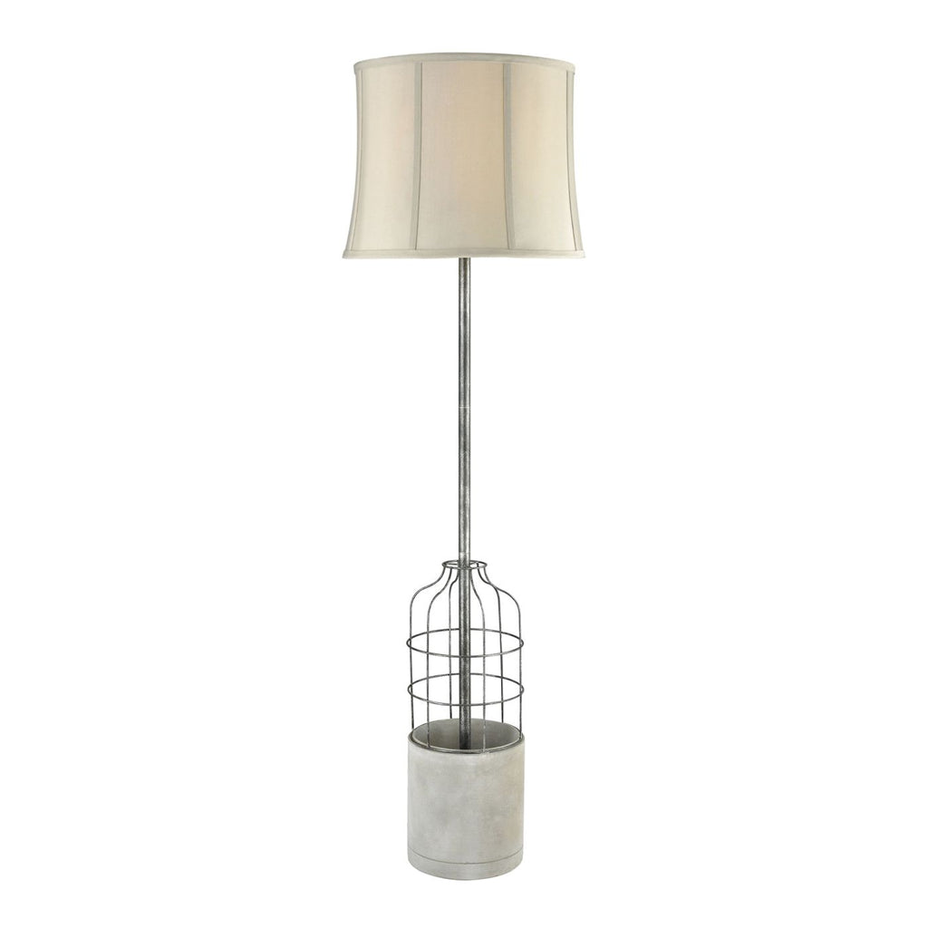 Buy Elk Group Elk D3290 Rochefort Outdoor Floor Lamp Polished Concrete Oil Rubbed Bronze At Contemporary Furniture Warehouse