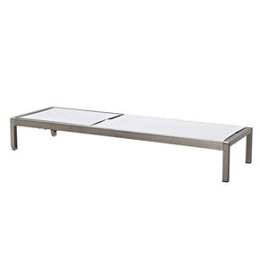 Outdoor Lounge Chairs - Meelano 200-WHI Outdoor Chaise Lounge In White | 035127435961 | Only $384.80. Buy today at http://www.contemporaryfurniturewarehouse.com