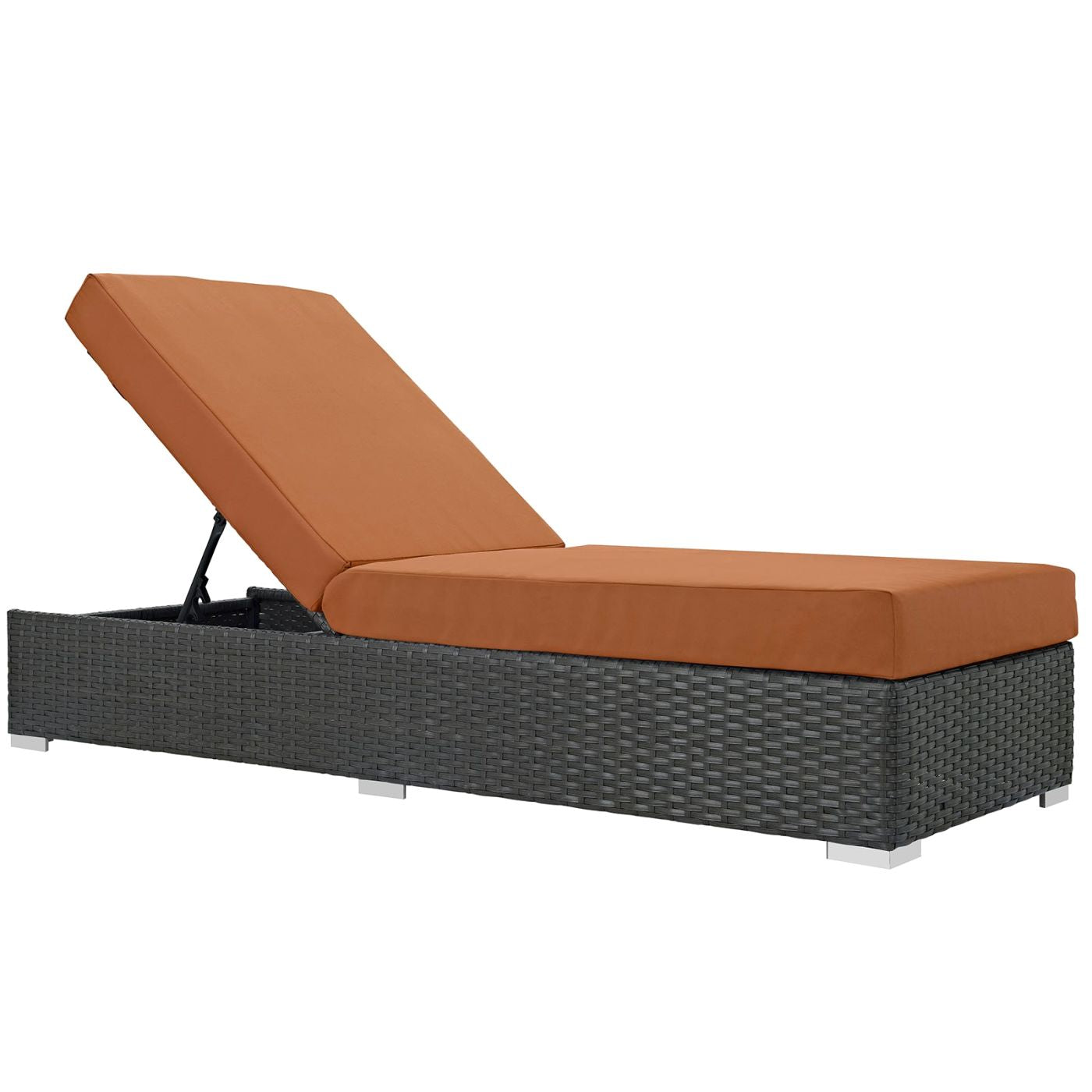 Magnificent Modway Outdoor Lounge Chairs On Sale Eei 1862 Chc Tus Sojourn Outdoor Patio Rattan Sunbrella Chaise Lounge Only Only 739 55 At Contemporary Alphanode Cool Chair Designs And Ideas Alphanodeonline