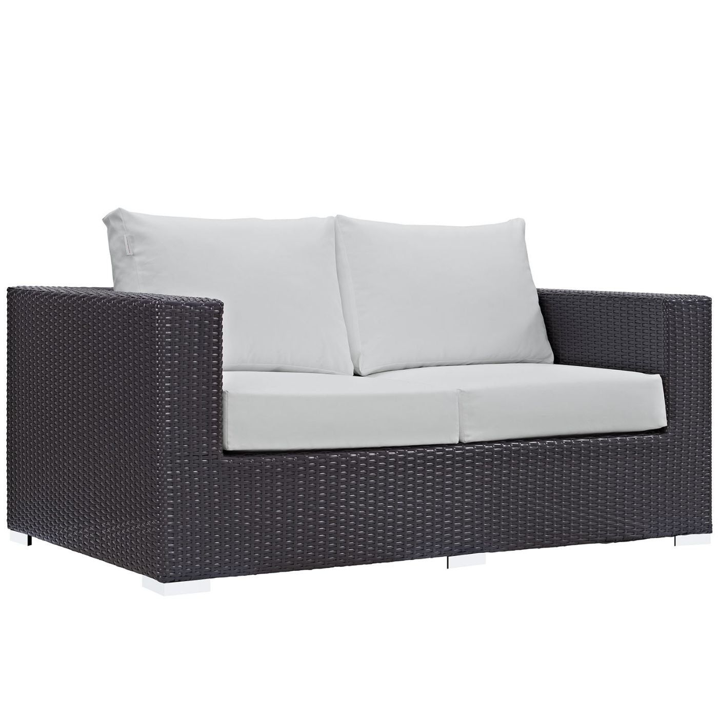 furniture loveseat pcok patio co cushions l rattan wicker