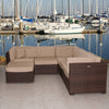Bellagio Sectional 6-pc Set Deluxe