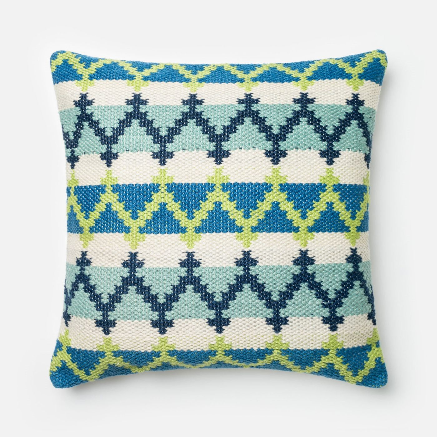 Loloi Rugs Loloi Blue / Green Decorative Throw Pillow (P0340) DSETP0340BBGRPIL3. Only $69.00 at ...