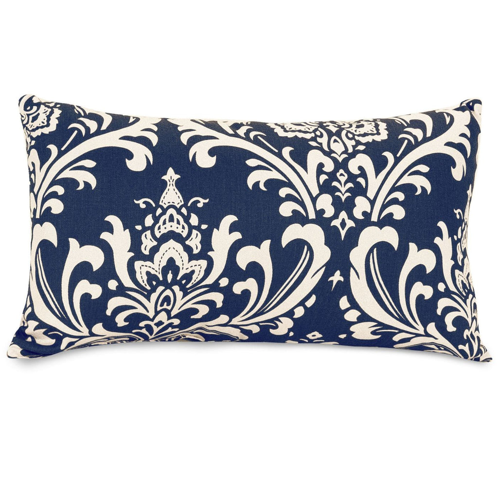 Navy Blue French Quarter Small Pillow Outdoor