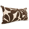 Chocolate Plantation Small Pillow Outdoor