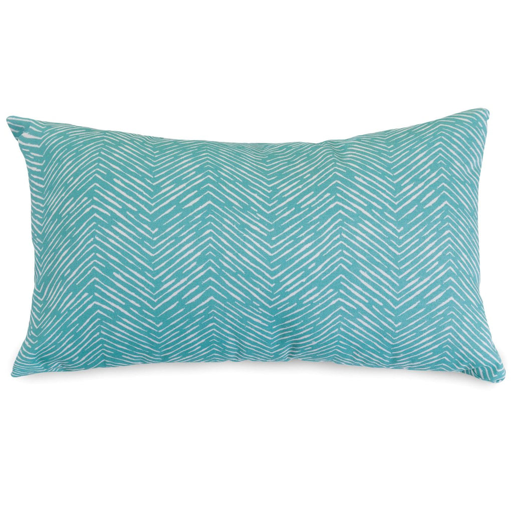 Outdoor Pillows - Majestic Home 85907220693 Teal Navajo Small Pillow | 859072206930 | Only $33.60. Buy today at http://www.contemporaryfurniturewarehouse.com
