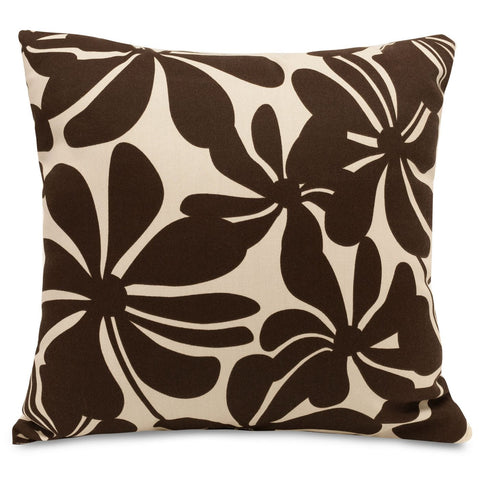 Chocolate Plantation Large Pillow Outdoor