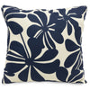 Navy Blue Plantation Large Pillow Outdoor