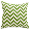 Sage Chevron Large Pillow Outdoor