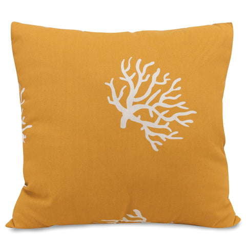 Yellow Coral Extra Large Pillow Outdoor