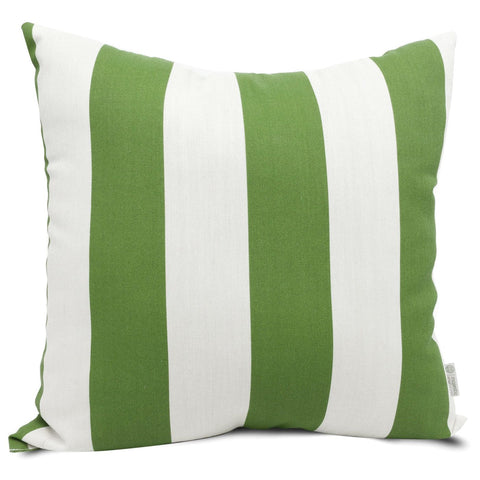 Sage Vertical Stripe Extra Large Pillow Outdoor