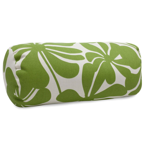 Sage Plantation Round Bolster Outdoor Pillow