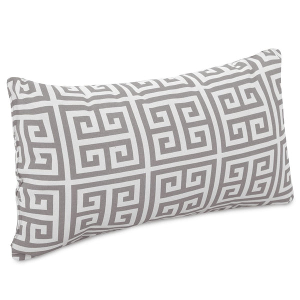 Gray Towers Small Pillow Outdoor