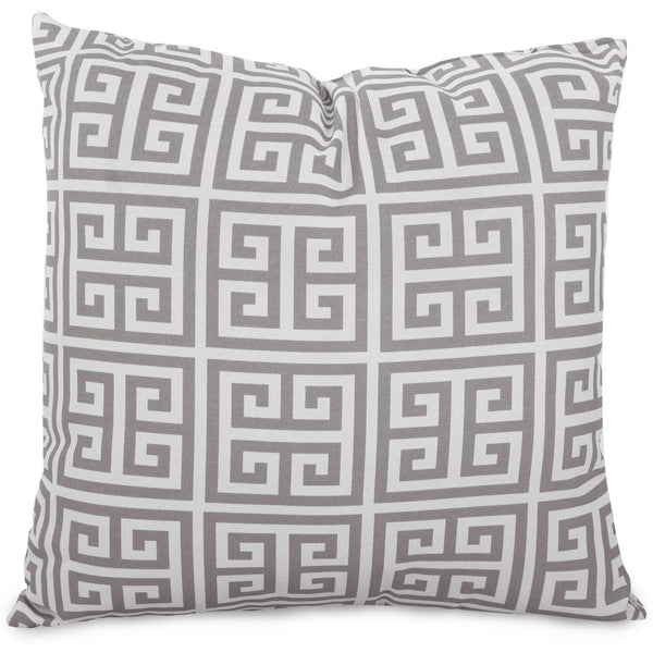Gray Towers Large Pillow Outdoor