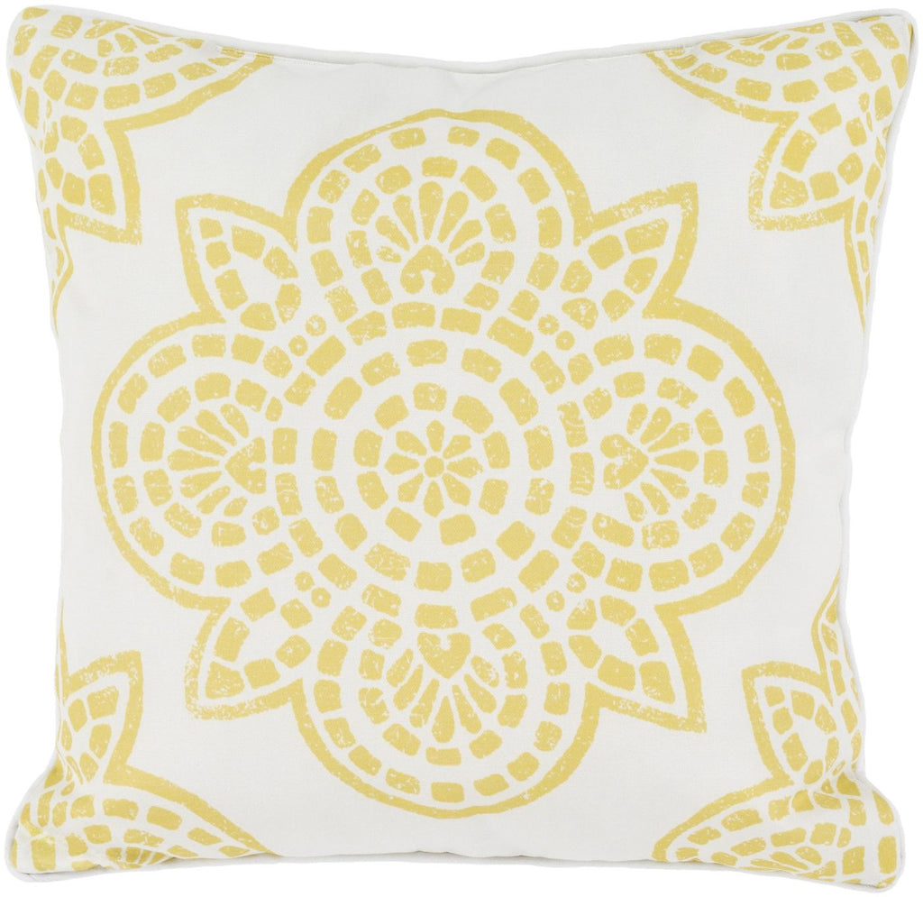 Hemma Throw Pillow Yellow Neutral