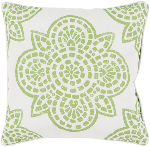 Hemma Throw Pillow Green Neutral