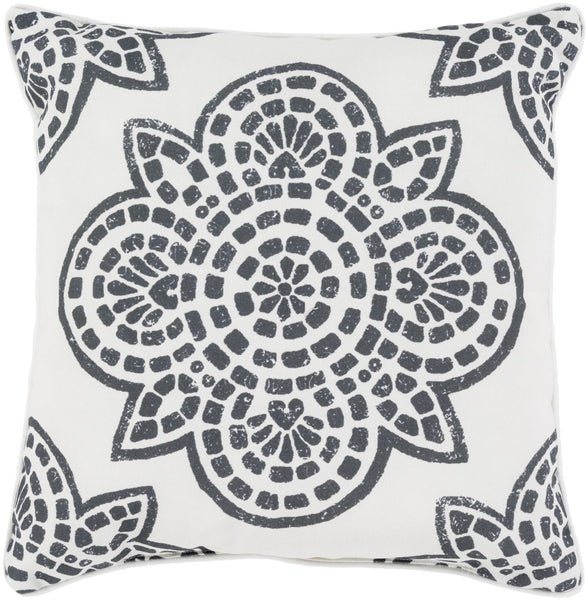 Hemma Throw Pillow Black Neutral