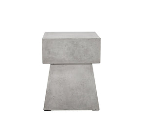 Ekon Indoor/outdoor Concrete Stool Outdoor