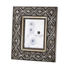 Hand Carved Ornate 5X7 Frame Silver Picture
