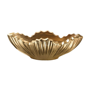 Poppy Planter - Gold Leaf