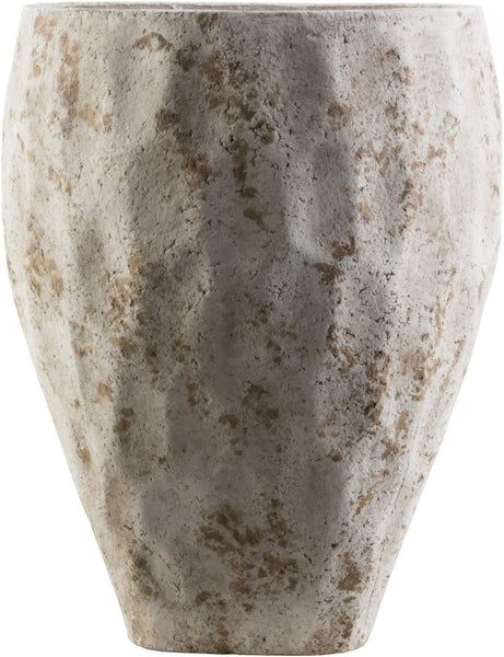 Dune Coastal Pot Ivory Olive Gray Planter