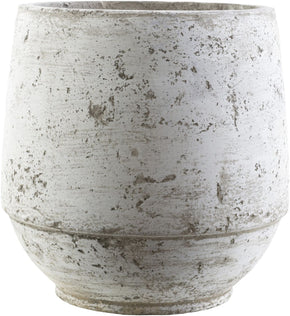 Planters - Surya RMR251-M Rome Cottage/Country Pot Light Gray, Ivory | 888473142904 | Only $66.00. Buy today at http://www.contemporaryfurniturewarehouse.com