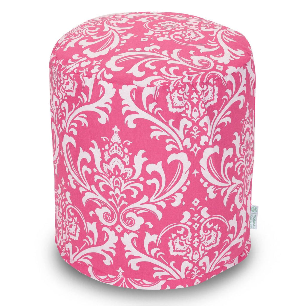 Hot Pink French Quarter Small Pouf