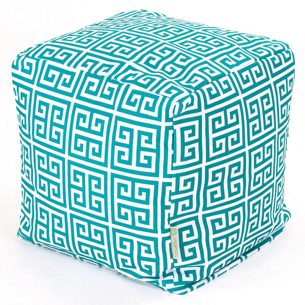 Pacific Towers Small Cube Pouf