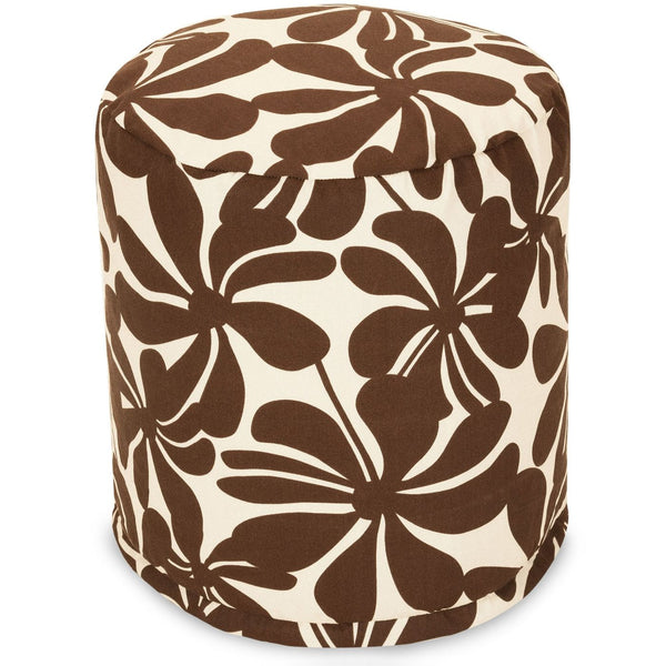 Chocolate Plantation Small Pouf