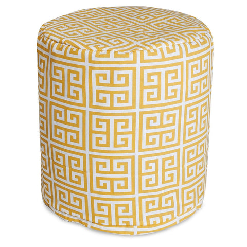 Citrus Towers Small Pouf