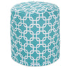 Poufs - Majestic Home 85907239034 Teal Links Small Pouf | 859072390340 | Only $66.70. Buy today at http://www.contemporaryfurniturewarehouse.com