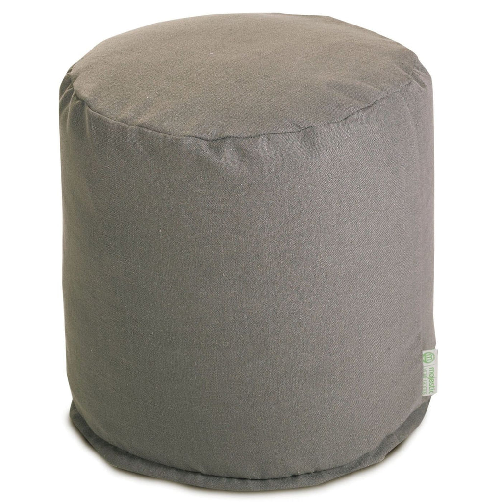 Gray Wales Small Pouf