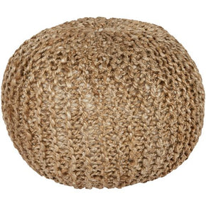 Poufs - Surya BRPF-001 Bermuda Pouf (BRPF-001) | 888473048589 | Only $95.40. Buy today at http://www.contemporaryfurniturewarehouse.com