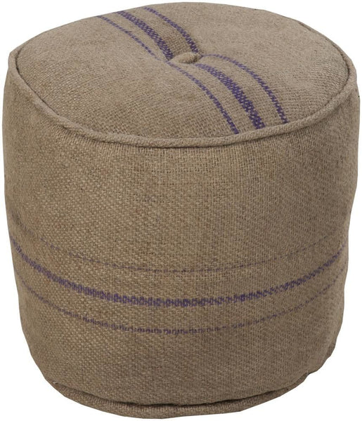 Poufs - Surya POUF-13 Pouf (POUF-13) | Only $143.40. Buy today at http://www.contemporaryfurniturewarehouse.com