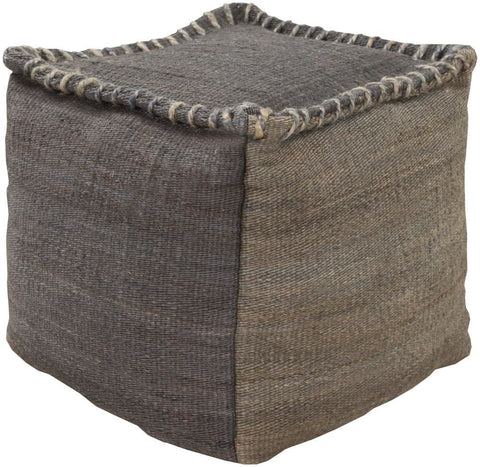 Poufs - Surya POUF-247 Pouf (POUF-247) | Only $219.00. Buy today at http://www.contemporaryfurniturewarehouse.com