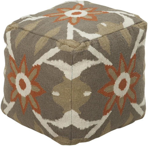 Poufs - Surya POUF-33 Pouf (POUF-33) | Only $267.00. Buy today at http://www.contemporaryfurniturewarehouse.com