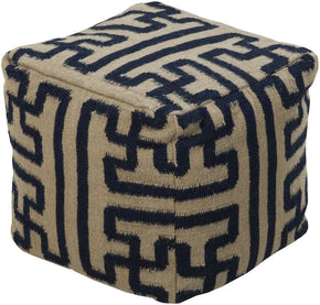 Poufs - Surya POUF-49 Pouf (POUF-49) | Only $380.00. Buy today at http://www.contemporaryfurniturewarehouse.com