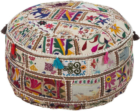 Poufs - Surya POUF-92 Pouf (POUF-92) | Only $193.20. Buy today at http://www.contemporaryfurniturewarehouse.com