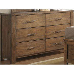 Brayden Transitional Drawer Dresser Satin Mindi