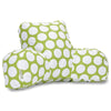 Hot Green Large Polka Dot Reading Pillow