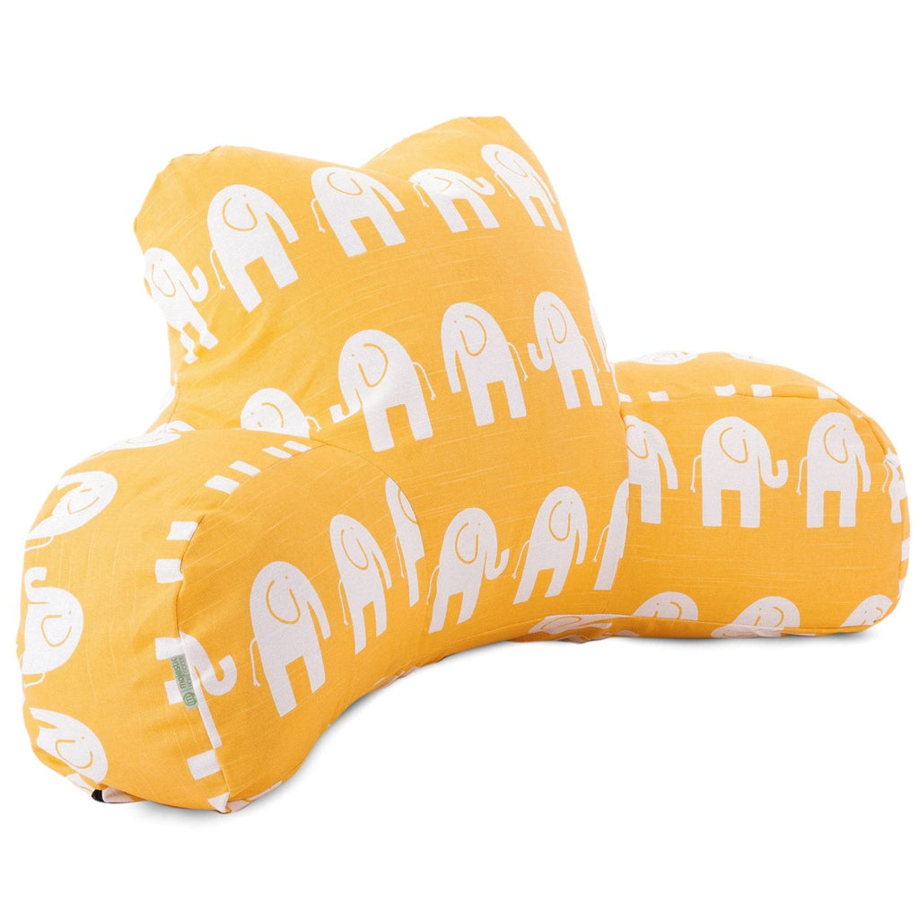 Yellow Ellie Reading Pillow