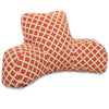 Burnt Orange Bamboo Reading Pillow