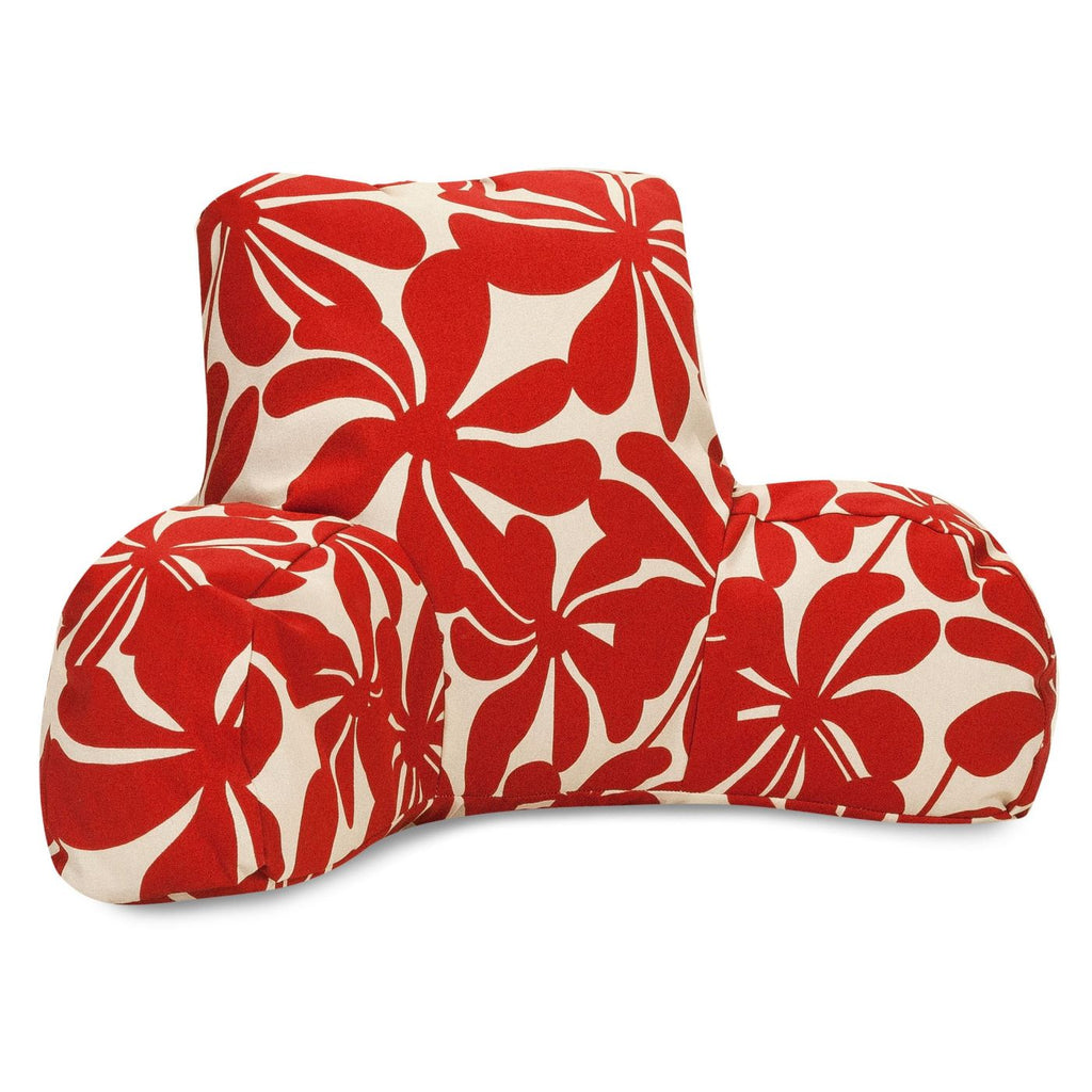 Red Plantation Reading Pillow
