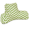 Sage Chevron Reading Pillow