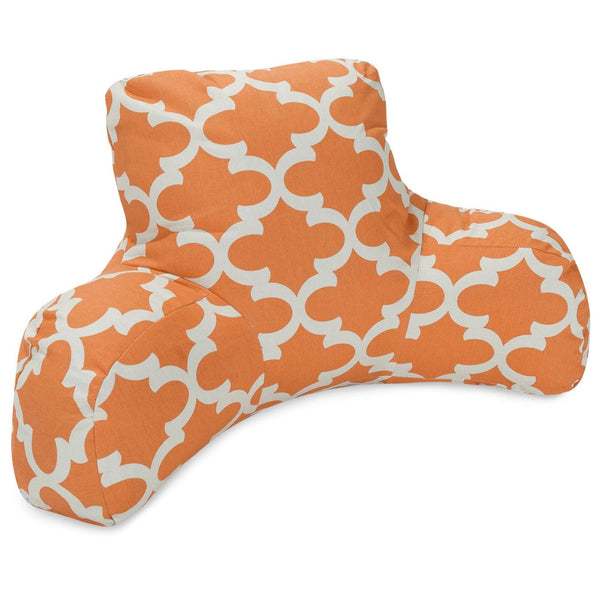 Peach Trellis Reading Pillow