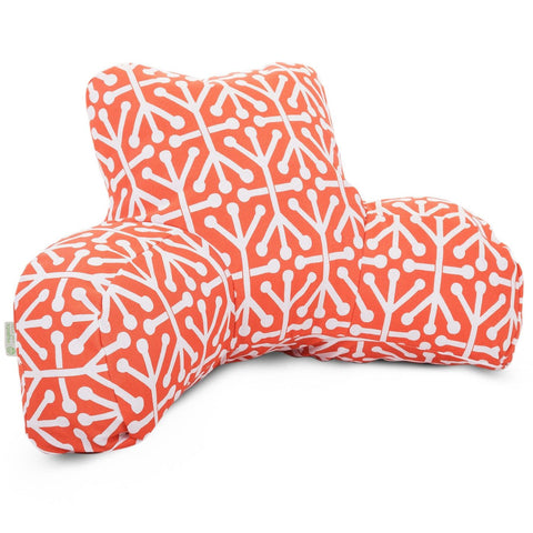 Orange Aruba Reading Pillow