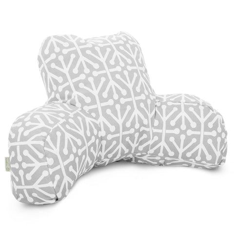 Gray Aruba Reading Pillow
