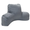 Gray Solid Reading Pillow