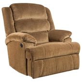 Big And Tall 350 Lb. Capacity Aynsley Microfiber Recliner Amber